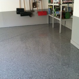 Garage flooring After Brighton