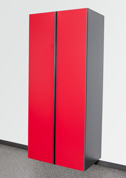 Red Slate Cabinet Options